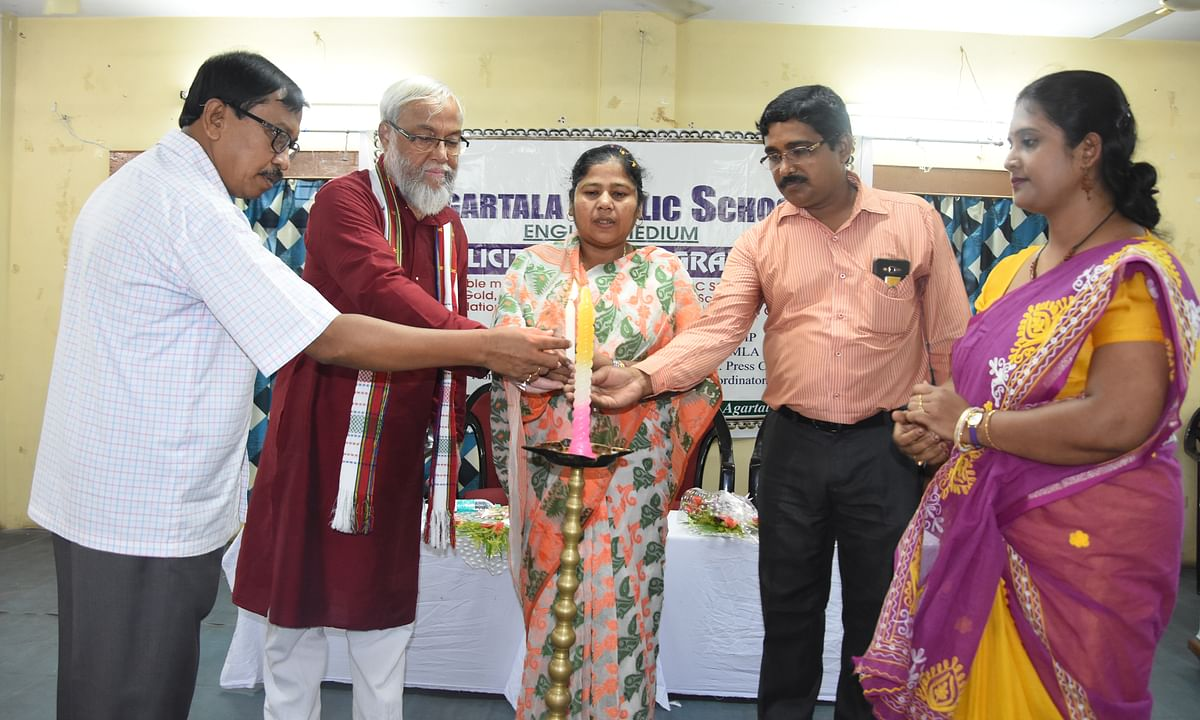 Agartala Public School shines in Science Olympiad Foundation exams