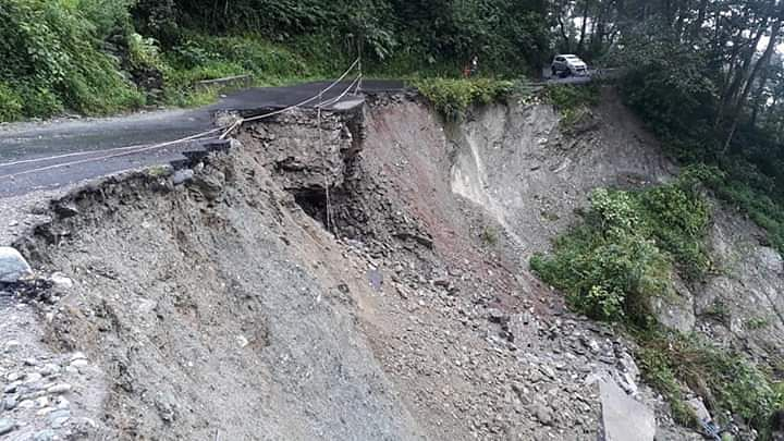Landslide at Pakyong