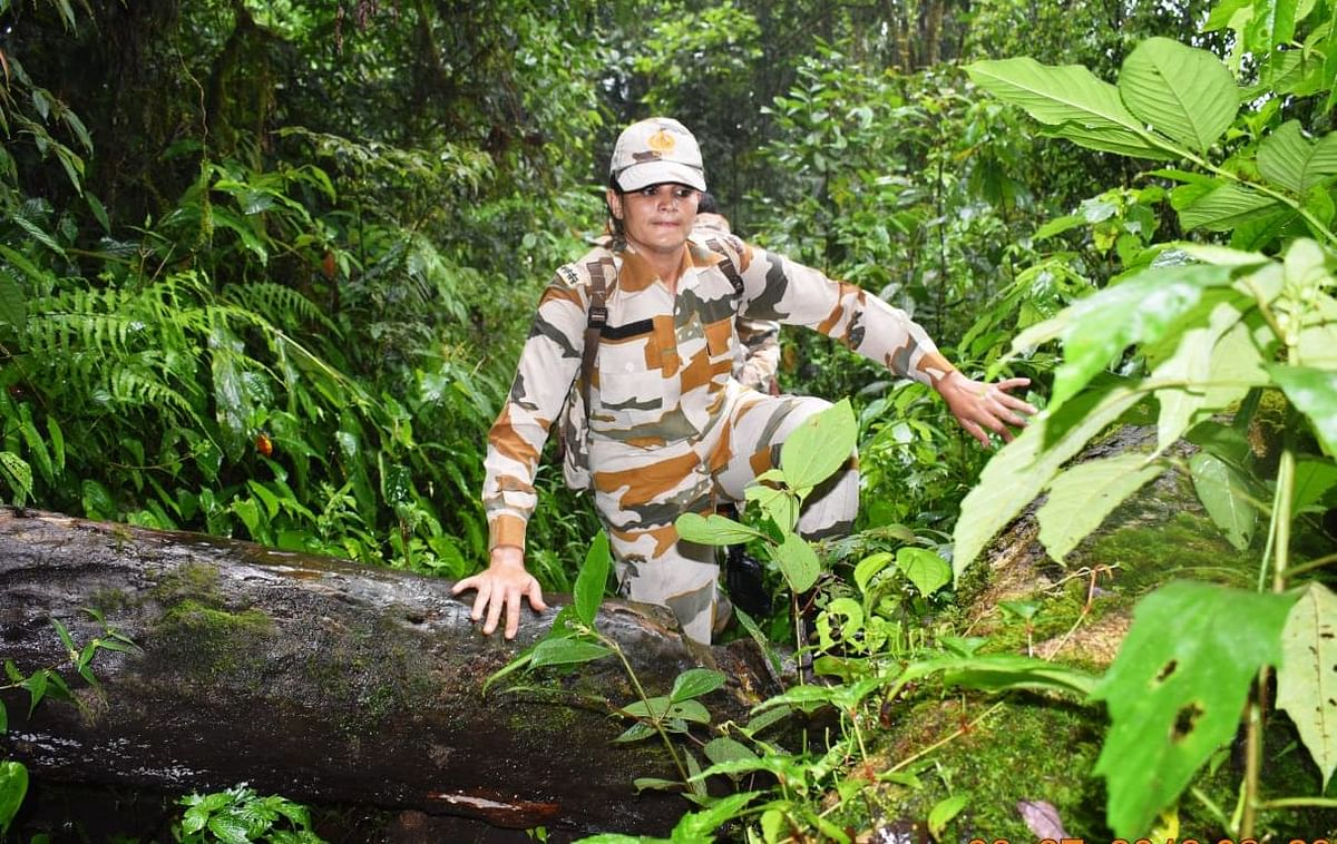 The special all-women's patrol was led by ITBP assistant commandant Bhanita Timungpi along India-China border in Arunachal Pradesh