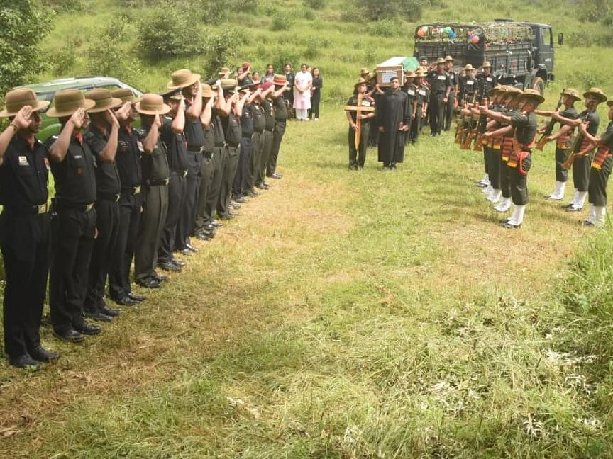 3 Assam Regiment officers laid to rest with full military honours