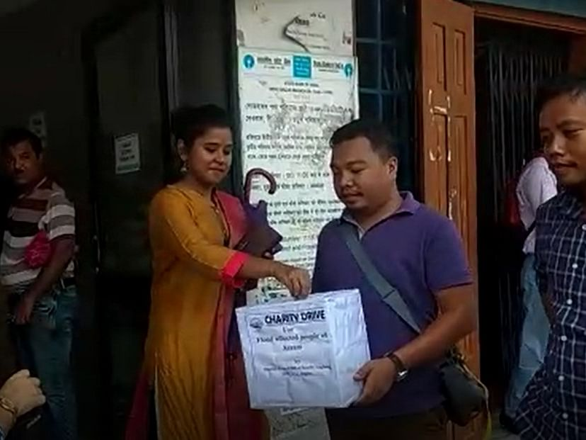 Assam floods: Karbi Anglong journalists raise funds for victims