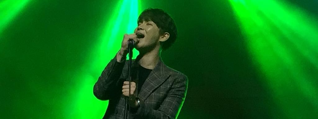 K-pop star Jang Hanbyul performing in Kohima, Nagaland on Tuesday