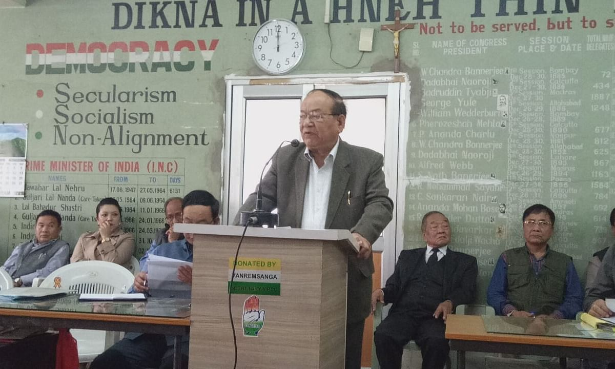 ILRF area belongs to Mizoram: Ex-boundary panel member CL Ruala