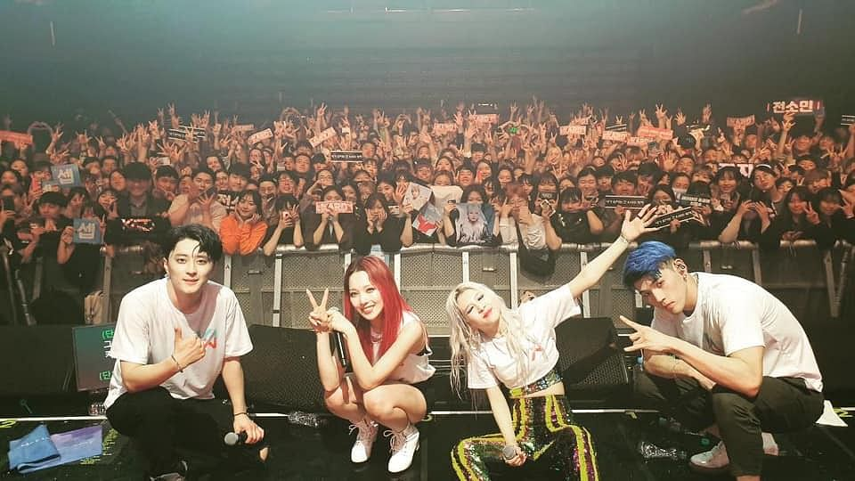 Popular K-pop band KARD will also perform at Talkatora Indoor Stadium in New Delhi on July 12