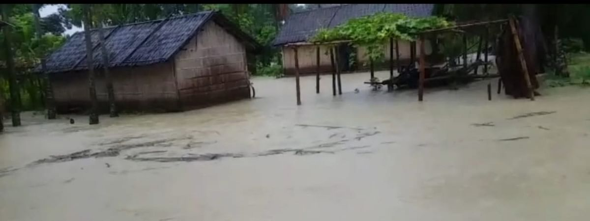 Over 530 villages across 11 districts are reeling under flood in Assam