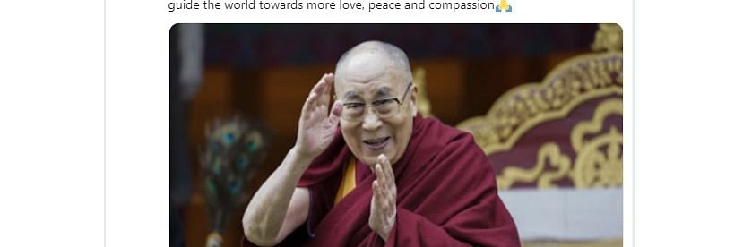 NE Twitterati shower prayers, wishes on Dalai Lama's 84th birthday