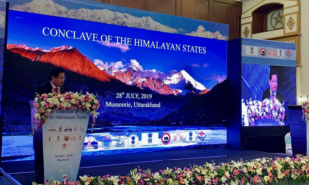 Conclave of the Himalayan States: Meghalaya CM seeks special funds