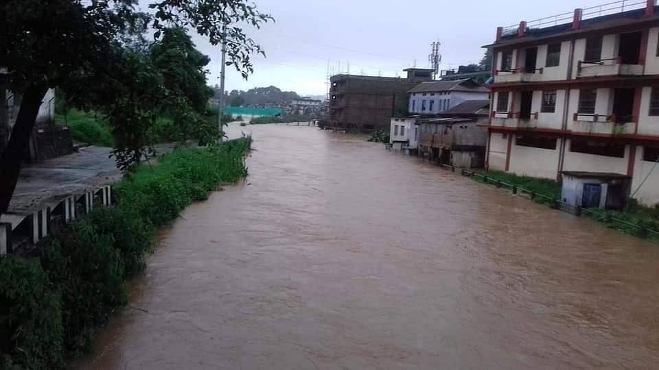 Vehicular movement across the West Khasi hills district disrupted due to flash floods