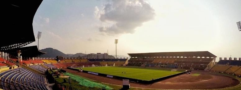 Indira Gandhi Athletic Stadium at Sarusajai on the outskirts of Guwahati in Assam