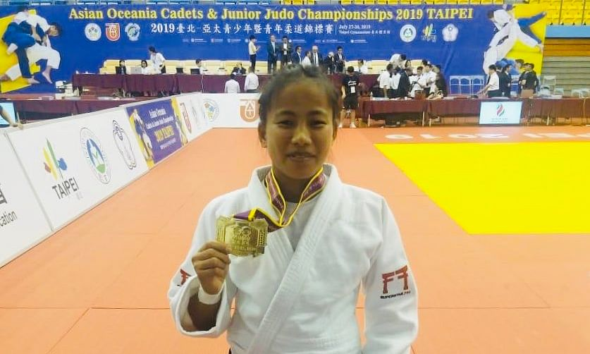 Manipur judoka Tababi Devi, a labourer's daughter, shines again
