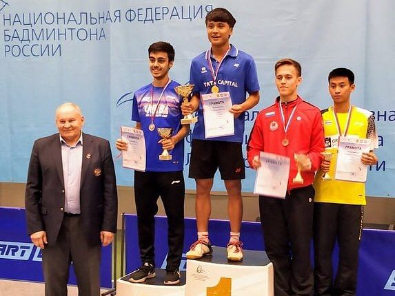 Manipur shuttler Meiraba Luwang wins 1st global title in Russia