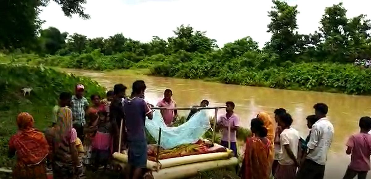 A section of people in the locality believe that if a person dies of snake bite, then the body is sailed on the river with a hope that some traditional healer may revive the person