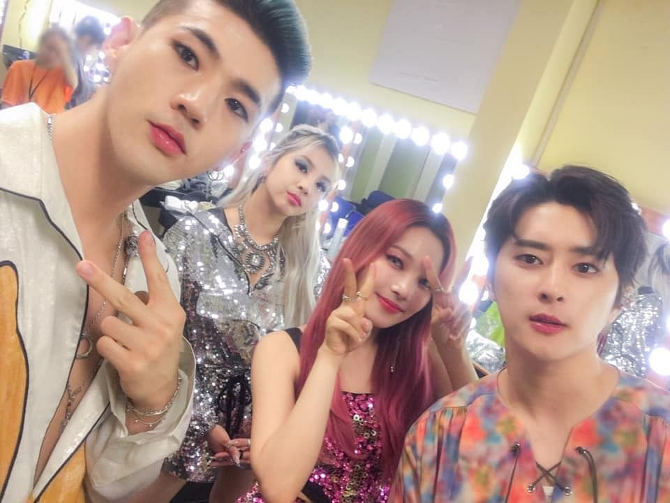 K-pop band KARD officially debuted on July 19, 2017, with the EP 'Hola Hola'