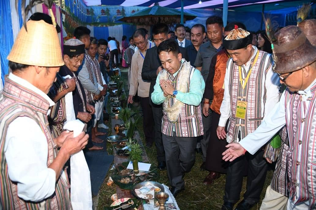 Sikkim CM PS Golay in Poklok-Kamrang in South Sikkim. Apart from Poklok-Kamrang, two other Assembly constituencies -- Sang-Martam and Gangtok -- are going to by-polls soon