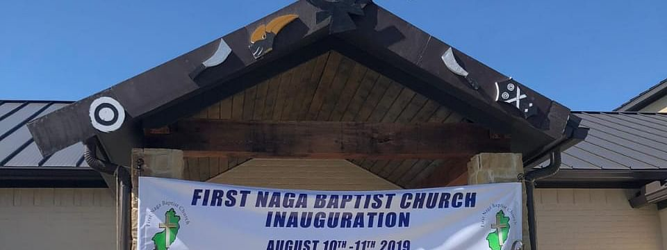 First Naga Baptist Church was inaugurated at Dallas Forth Worth in Texas, USA on August 11