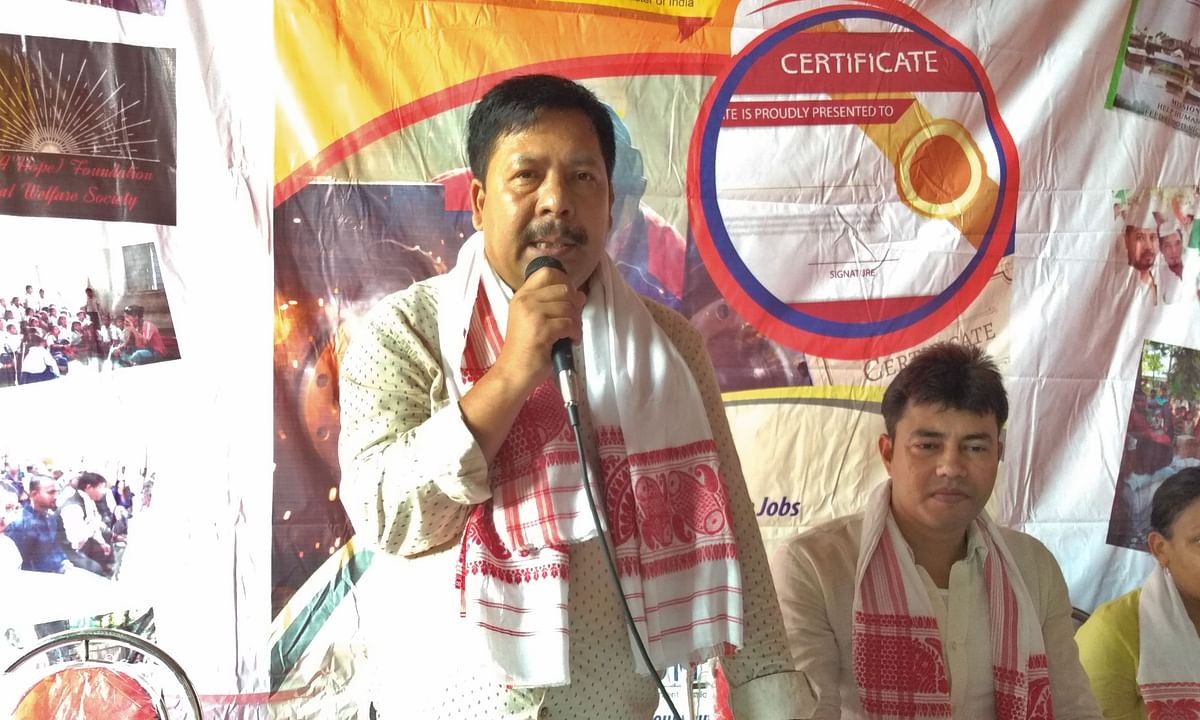 Assam: MP Naba Sarania set to form new political outfit in BTAD