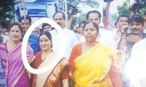 Tripura remembers Sushma Swaraj's only visit to state in 2008