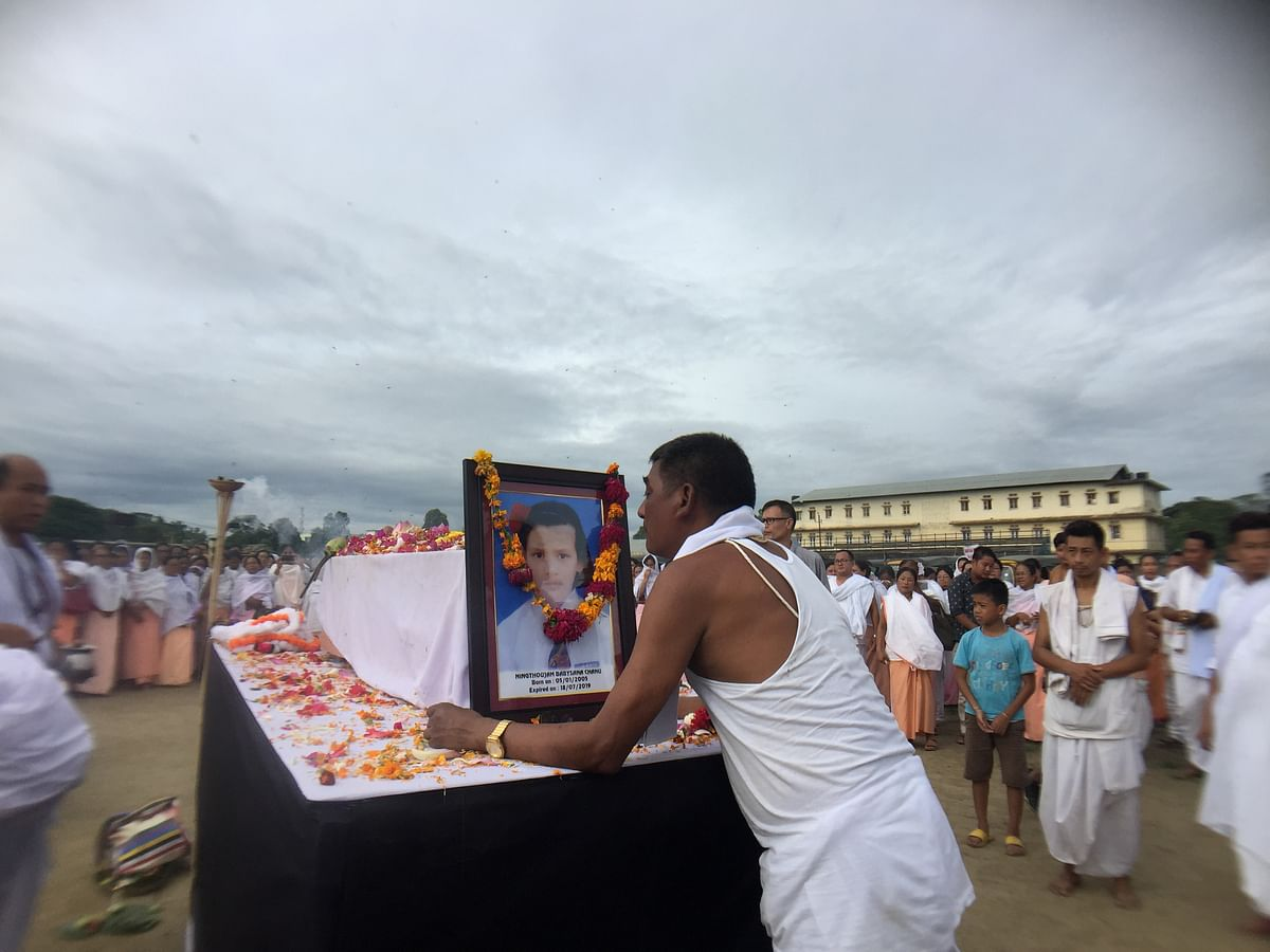 Manipur: Babysana laid to rest; JAC to continue to demand justice