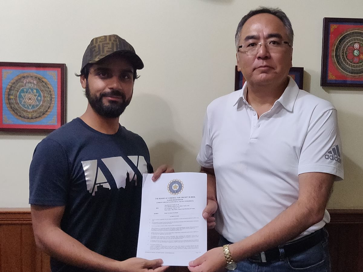 Left-arm spinner Iqbal Abdulla to play for Sikkim this season