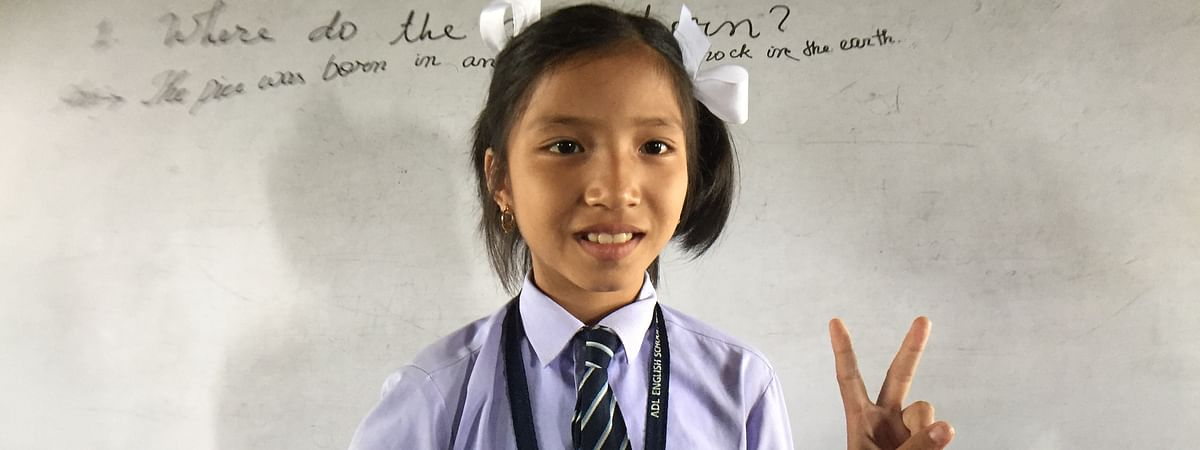 9-year-old girl Elangbam Valentina Devi is the new brand ambassador of 'Green Manipur Mission'