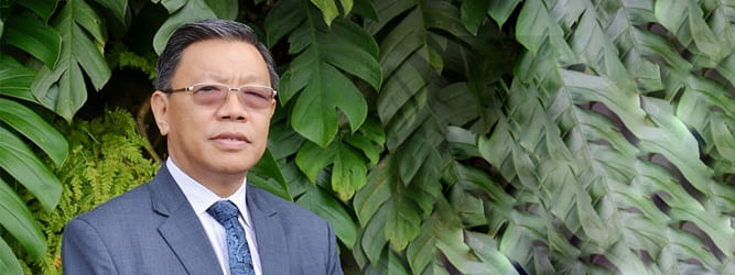 The BJP will finally work out with the SKM MLAs. It's for them to decide, said former SIkkim MP PD Rai
