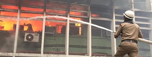 34 fire tenders have been rushed to control the fire that broke out at AIIMS in New Delhi on Saturday evening
