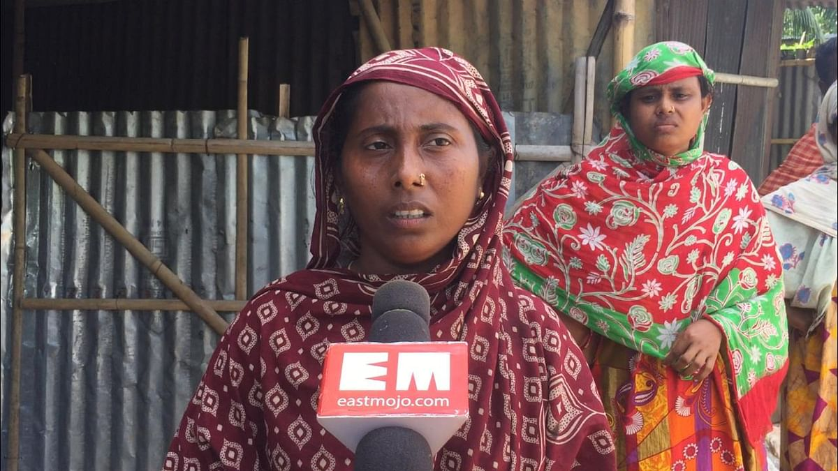 Minara Begam questions authorities concerned for not helping them in celebrating the Eid al-Adha