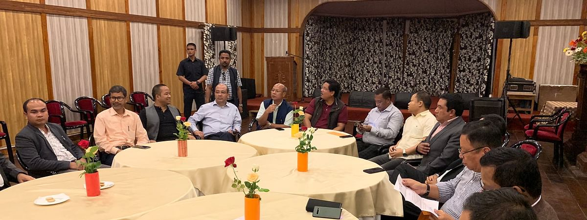 Meghalaya Legislative Assembly meet held on Tuesday to bring consensus among the partners for the post of Assembly Speaker