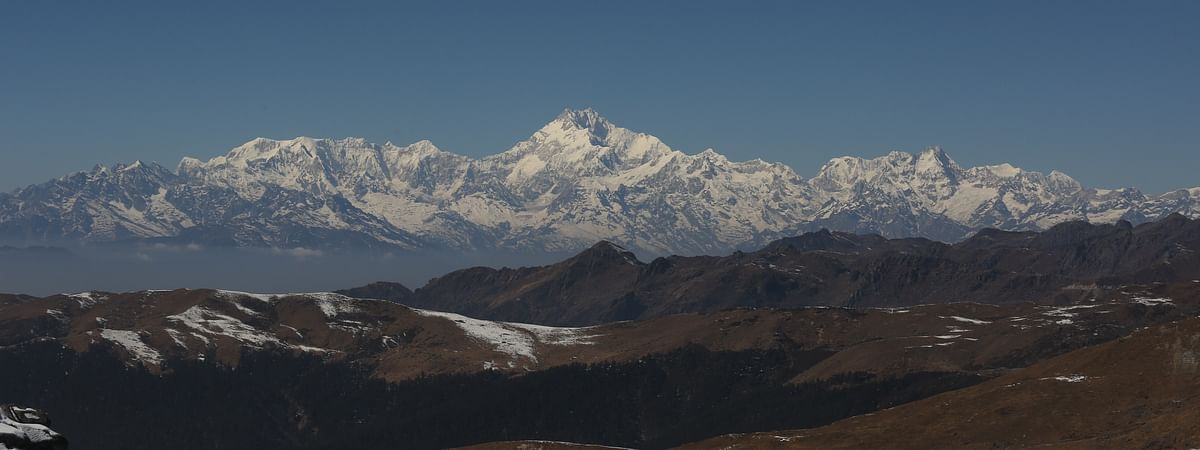 Mt Kanchenjunga, locally known as Khangchendzonga