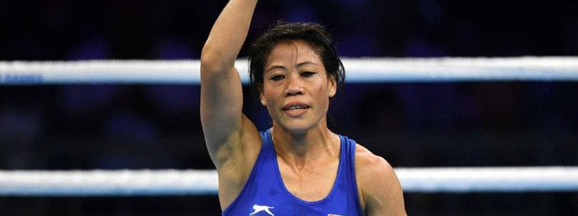 Manipur boxer MC Mary Kom