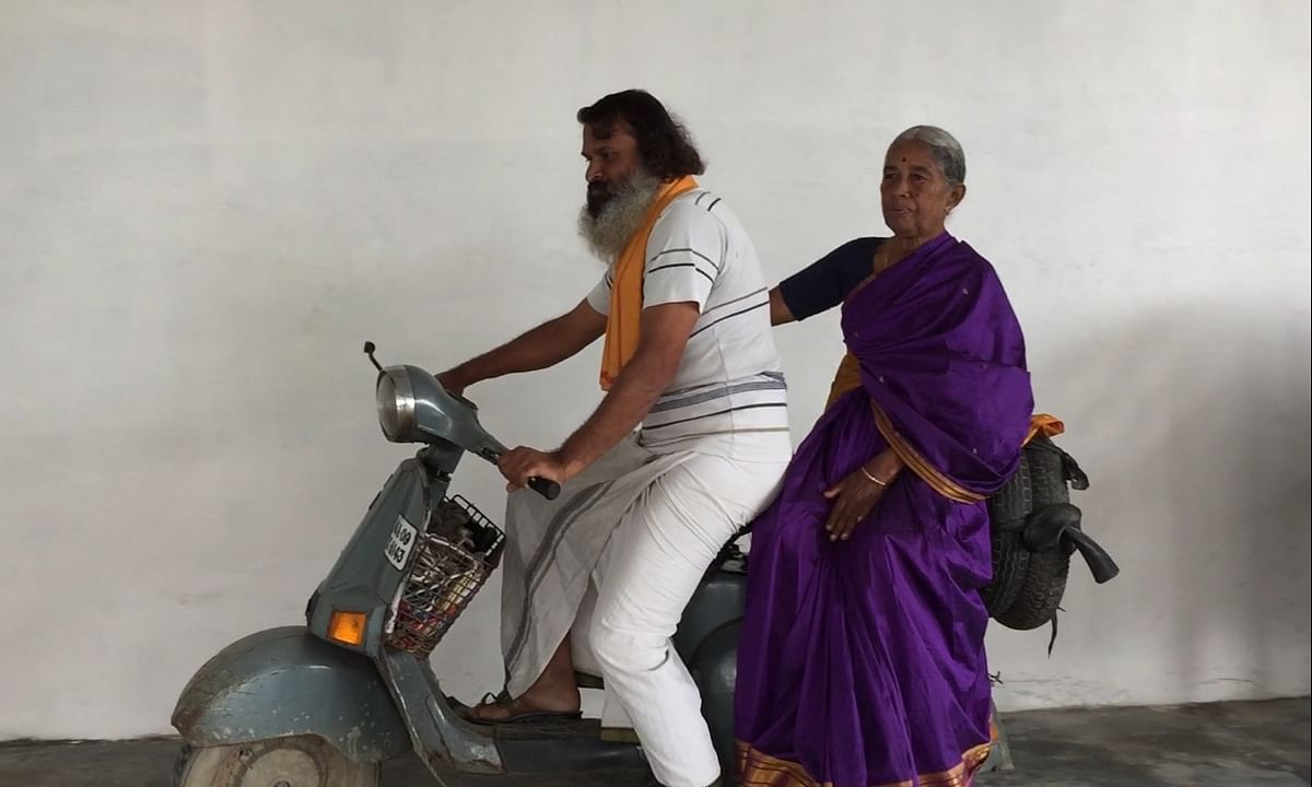 Mysuru's mother-son duo & their 20-yr-old scooter leave Nagaland