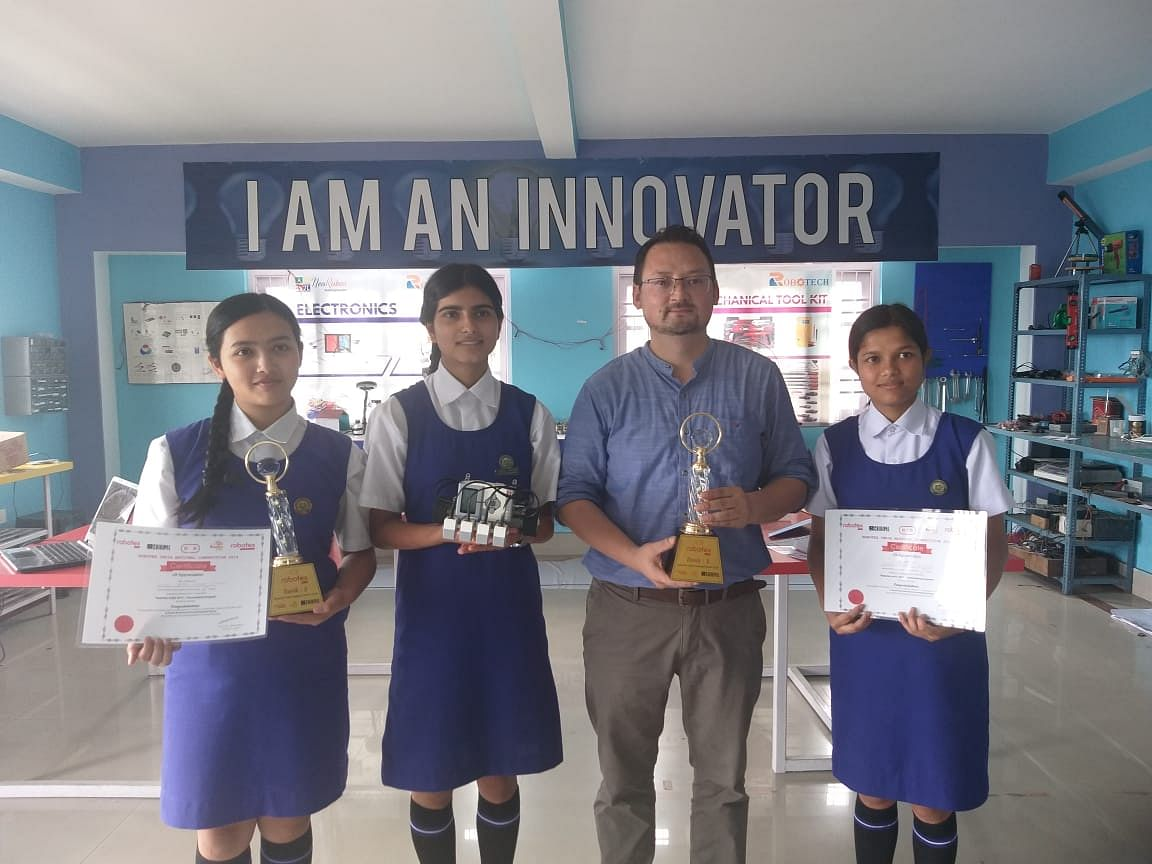 Sikkim girls to represent India in Robotex Asia, International