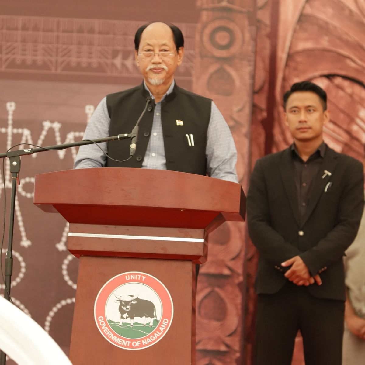 Nagaland chief minister Neiphiu Rio reiterated that 'Ravi will pave the way for a breakthrough to the Naga political issue'