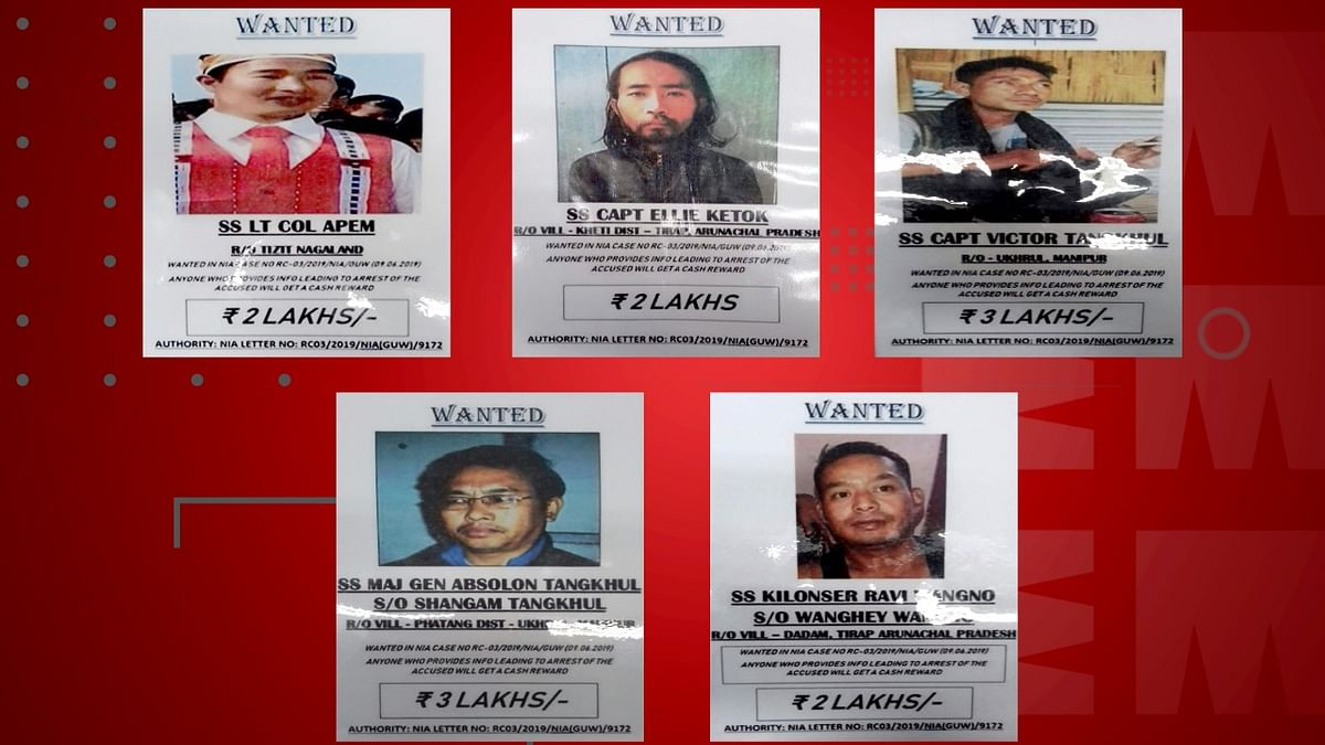 Anok Wangshu, a self-styled 'Major' of Naga insurgent group NSCN-IM, was held along with arms and ammunition on July 14