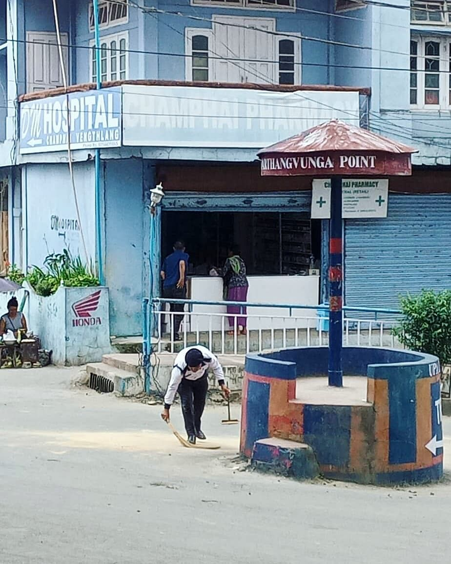Champhai was chosen as the cleanest city in the Northeast zone by the Swachh Bharat Mission (urban), at the same time achieving 'open defecation free' status