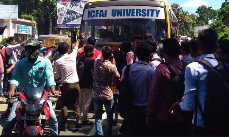 Students' clash: Meghalaya team to visit Tripura ICFAI University