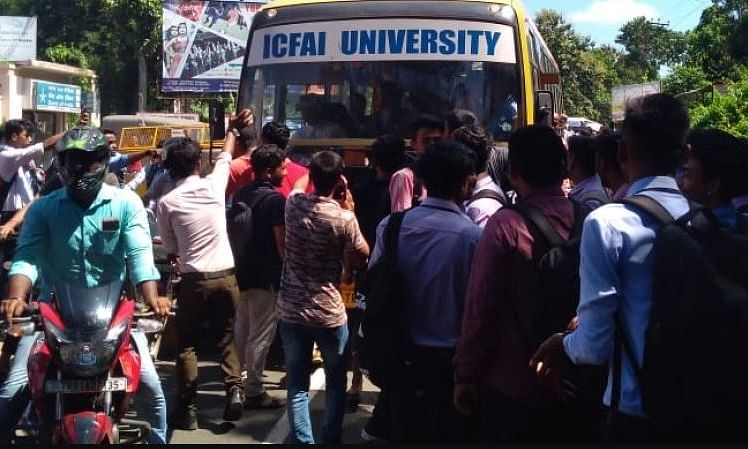 Tripura: After students' clash, normalcy restored in ICFAI varsity