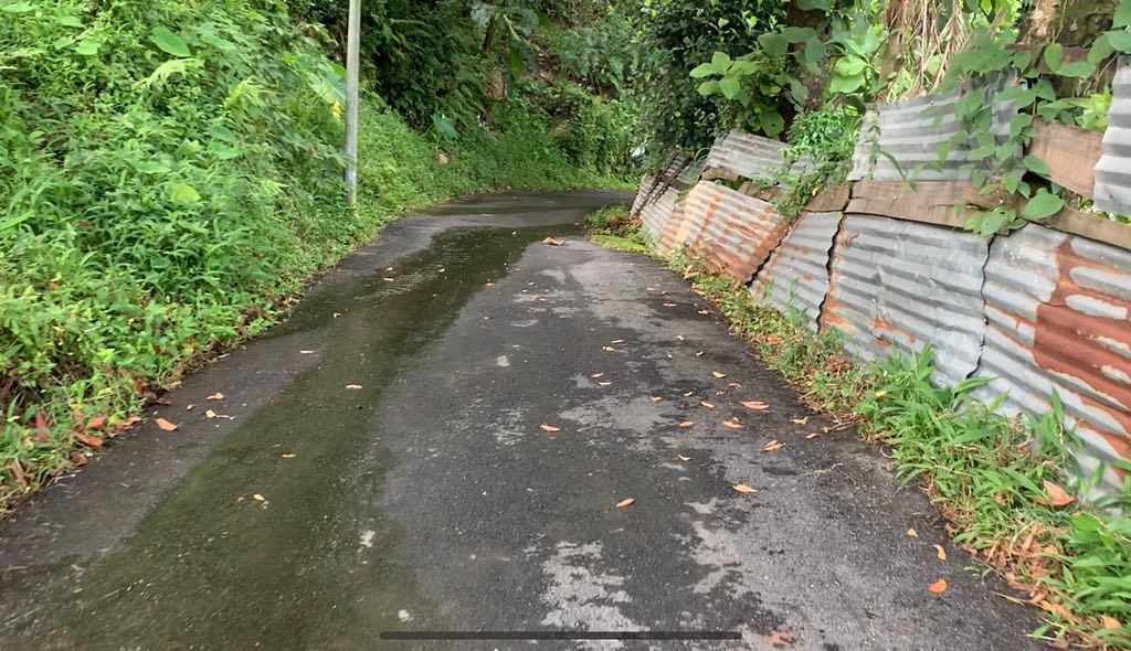 The Meghalaya government has constructed a road made from plastic waste in Tura in West Garo Hills district