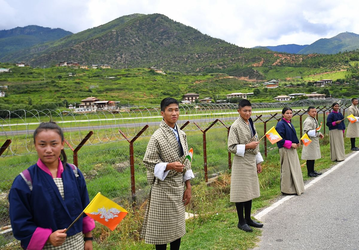 A traditional Chipdrel procession was hosted in the honour of the visiting dignitary
