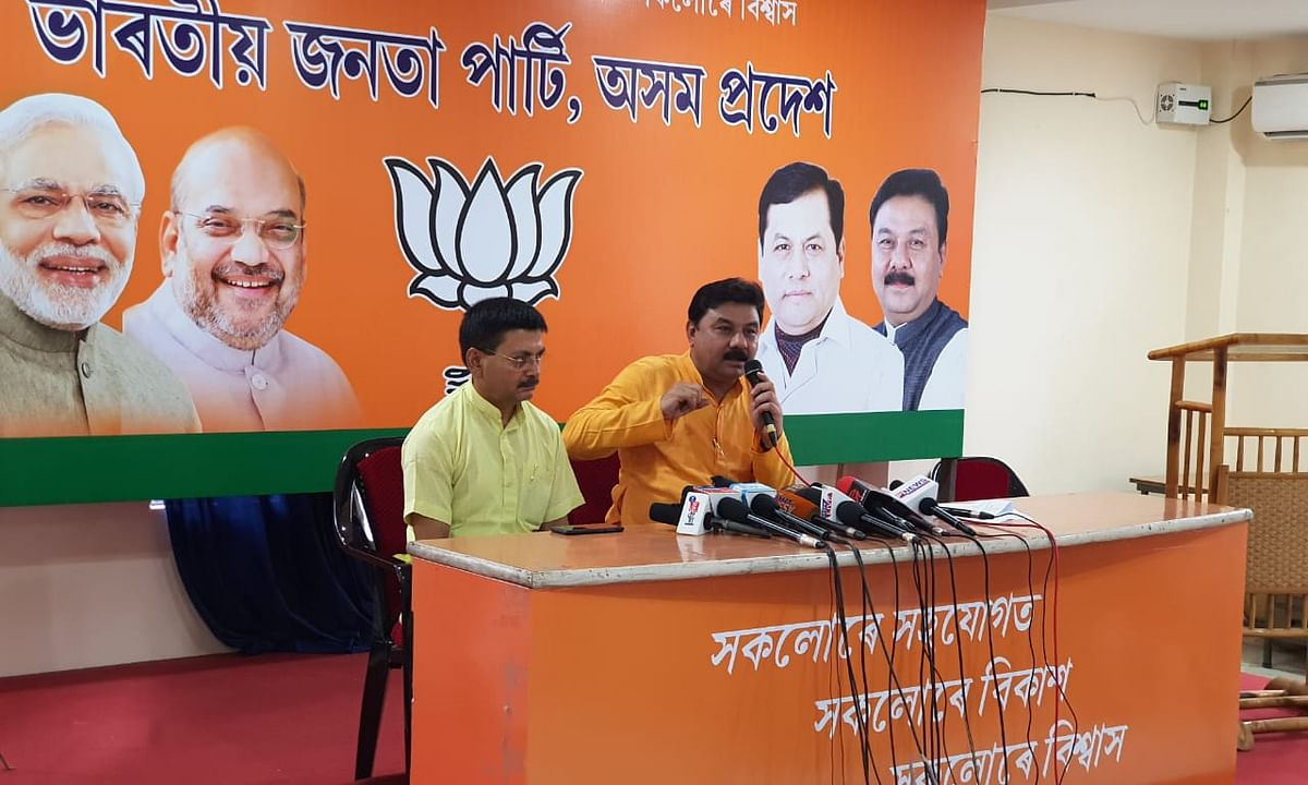 Assam BJP to reappoint Ranjeet Kumar Dass as state party chief