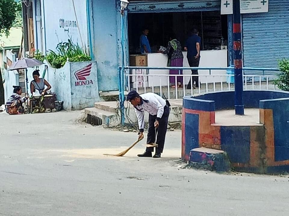 Mizo cop's sweeping statement proves why Champhai is NE's cleanest
