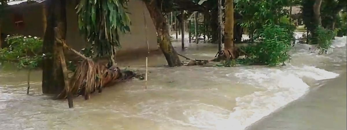 Parts of Assam have already been affected by flood