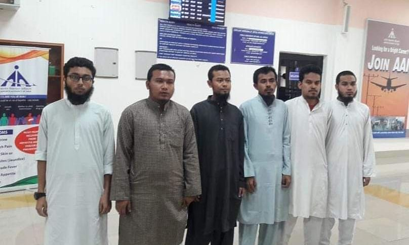 Manipur: 6 suspected Rohingya immigrants held at Imphal Airport