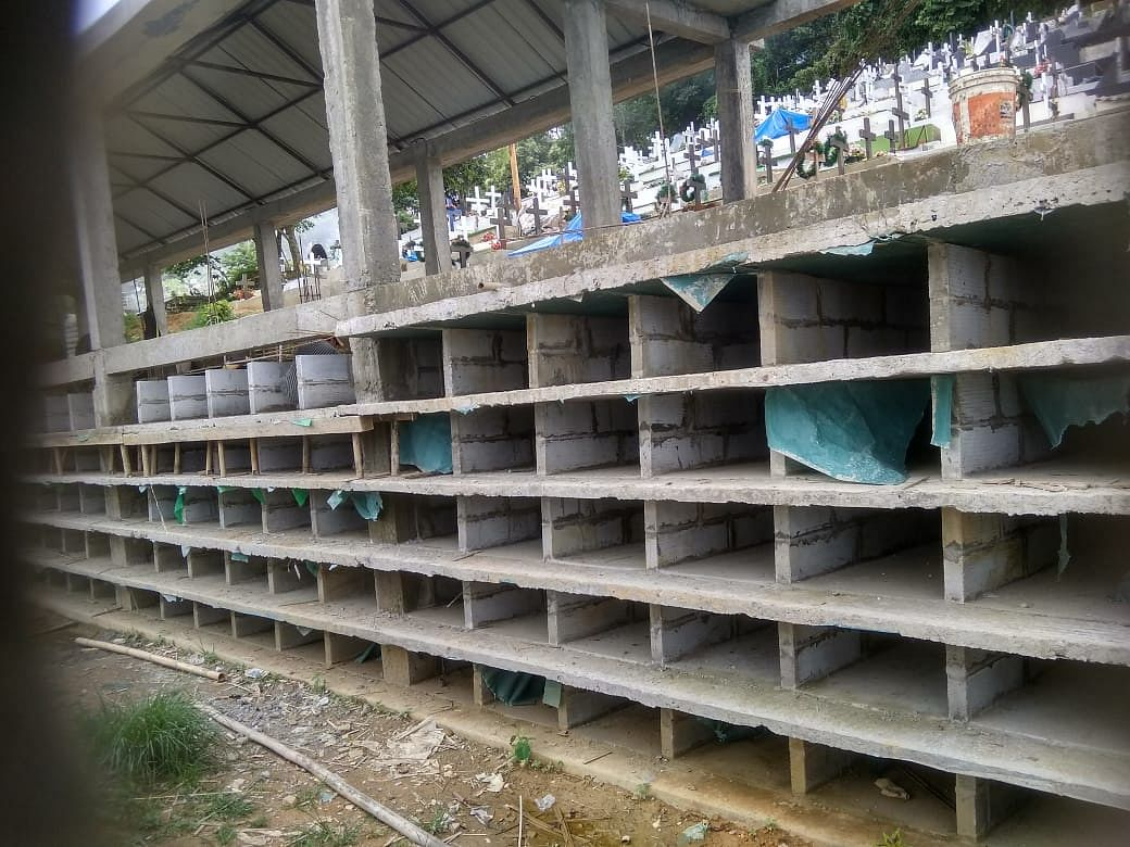Space running out, Mizoram locality builds multi-storeyed cemetery