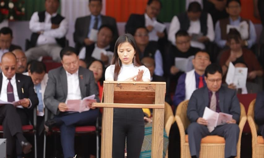 In a 1st, Nagaland CM's I-Day speech interpreted in sign language