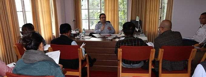 Mizoram chief electoral officer Ashish Kundra called on a meeting with representatives from all political parties of the state to discuss the electoral roll revision