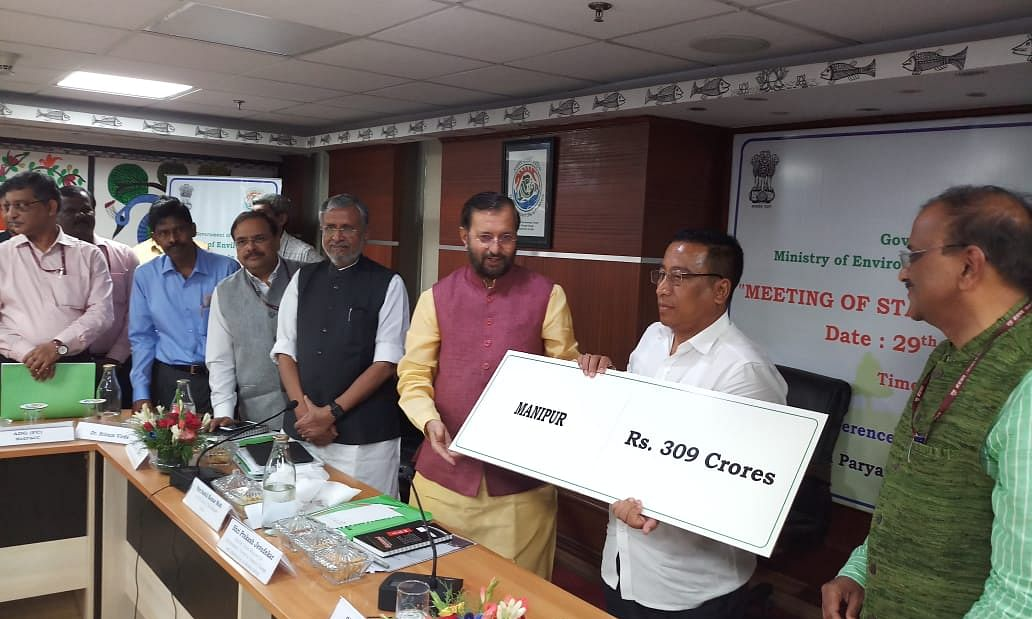 Manipur receives Rs 309 cr for green activities from Centre