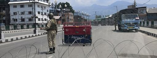Kashmir wears a deserted look after the abrogation of Article 370