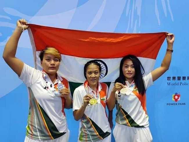 3 Mizoram girls shine at World Police and Fire Games in China