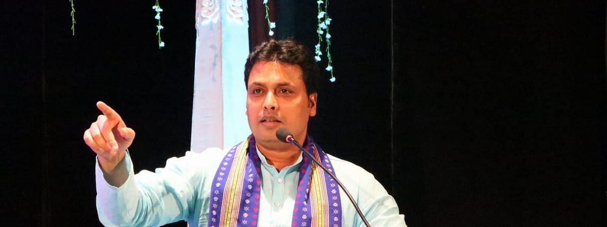 Tripura chief minister Biplab Kumar Deb announced this while speaking at an event organised to mark the 111th birth anniversary of Maharaja Bir Bikram